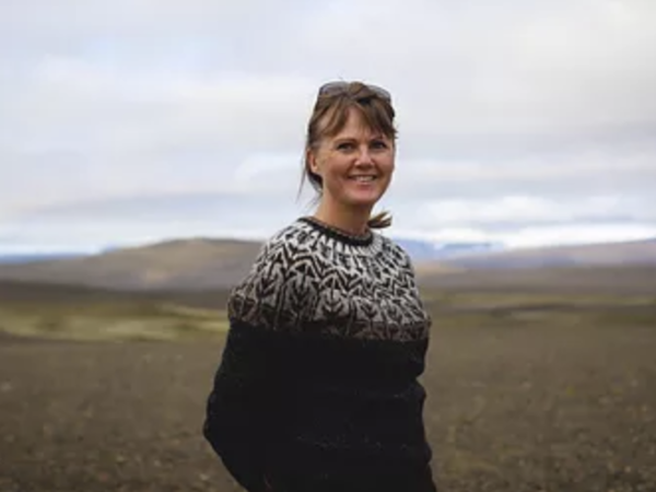Herdís Friðriksdóttir is your Local guide on the Golden Circle
