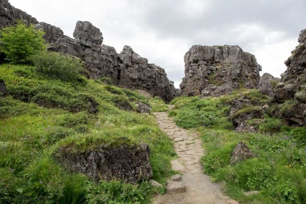 Empowering women in Iceland learning about Þingvellir national park, viking settlement, Icelandic sagas and discoveries