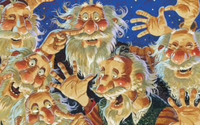 The Icelandic Yule Lads and family