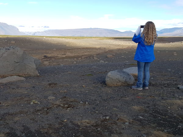 The higlands of Iceland on a Golden Circle with a local