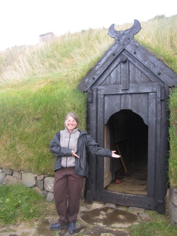 Students on a study abroad program in Iceland learning about viking settlement, Icelandic sagas and discoveries