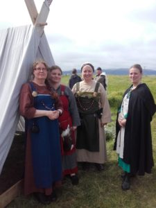 Students on a study abroad program in Iceland learning about viking women in Iceland