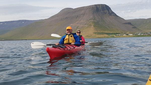 Kayaking in the Westfjords