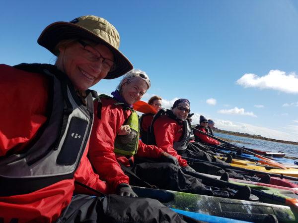 Kayaking in Iceland