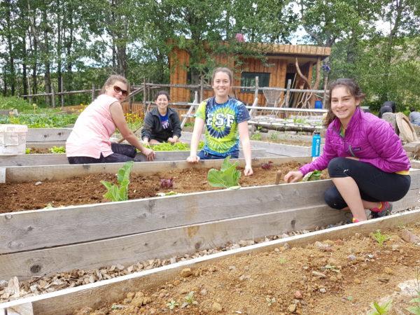 Students on study abroad program on Sustainability