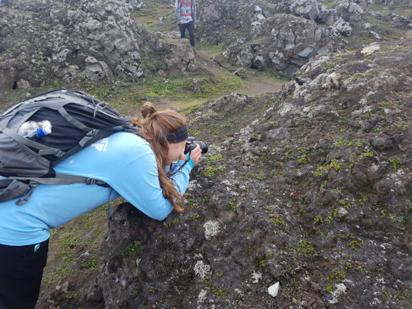 Studying geology in study abroad program in iceland